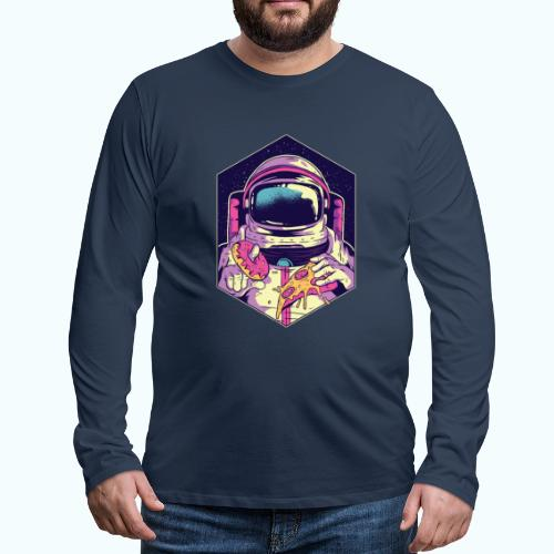 Fast food astronaut - Men's Premium Longsleeve Shirt