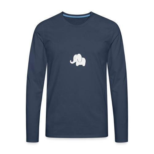 Little white elephant - Men's Premium Longsleeve Shirt