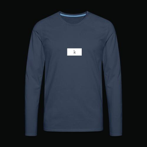 bafti hoodie - Herre premium T-shirt med lange ærmer