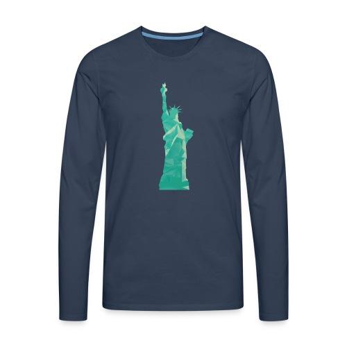 Freiheitsstatue - Männer Premium Langarmshirt