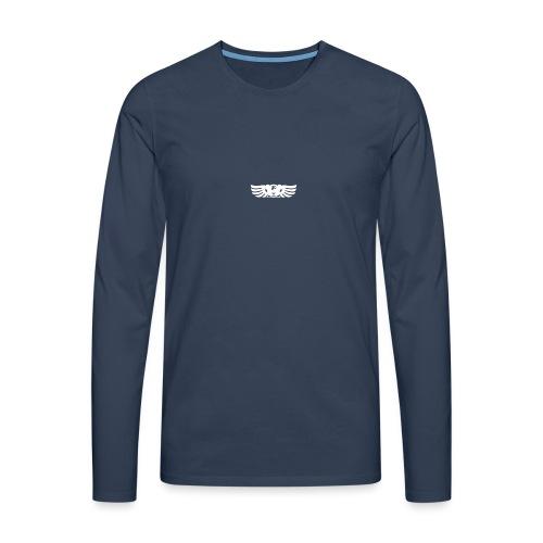 LOGO wit goed png - Mannen Premium shirt met lange mouwen
