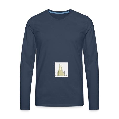 Histogramm NV jpg - Männer Premium Langarmshirt
