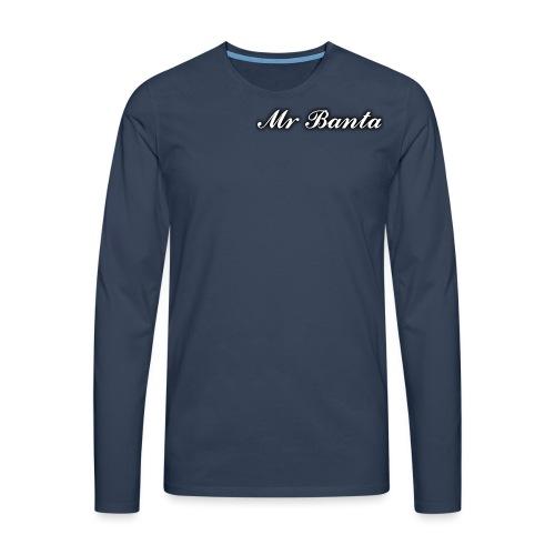 italic banta - Men's Premium Longsleeve Shirt