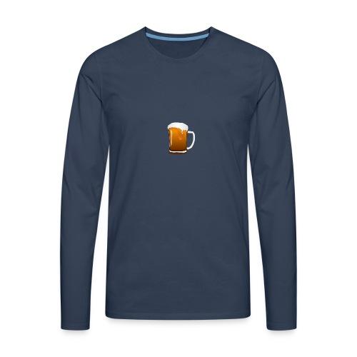 Bier - Männer Premium Langarmshirt
