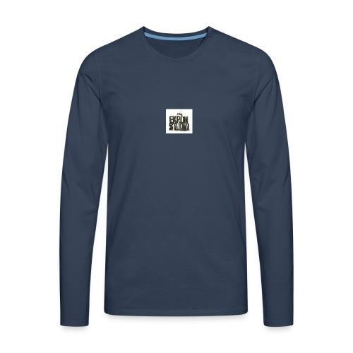 logo - Långärmad premium-T-shirt herr