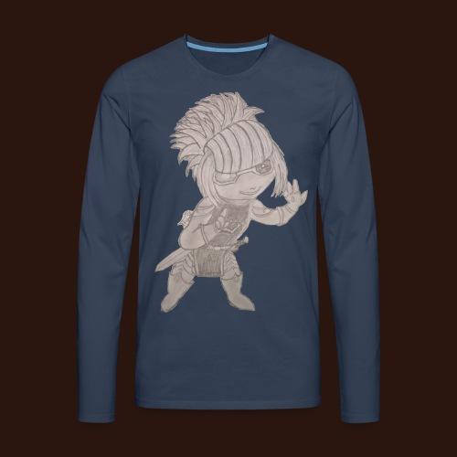 wenkie png - Männer Premium Langarmshirt