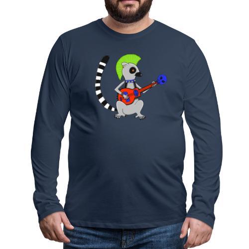 Katta-Punk - Männer Premium Langarmshirt
