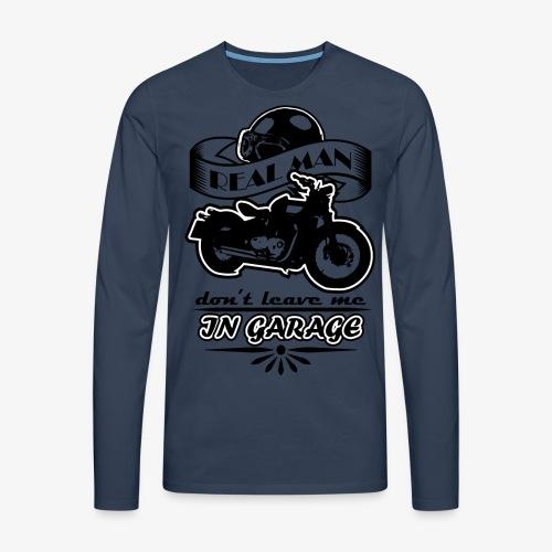 biker style - Maglietta Premium a manica lunga da uomo