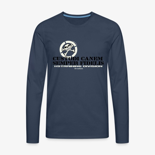 training - Men's Premium Longsleeve Shirt