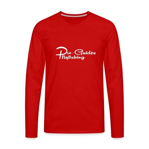 pro guides logoshirt - Männer Premium Langarmshirt