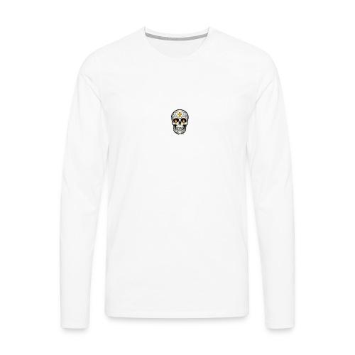 tete de mort - T-shirt manches longues Premium Homme