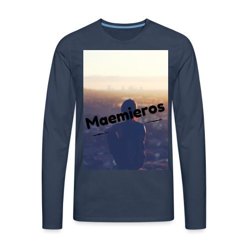 garciavlogs - Camiseta de manga larga premium hombre