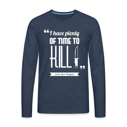 Ripper s kill - T-shirt manches longues Premium Homme