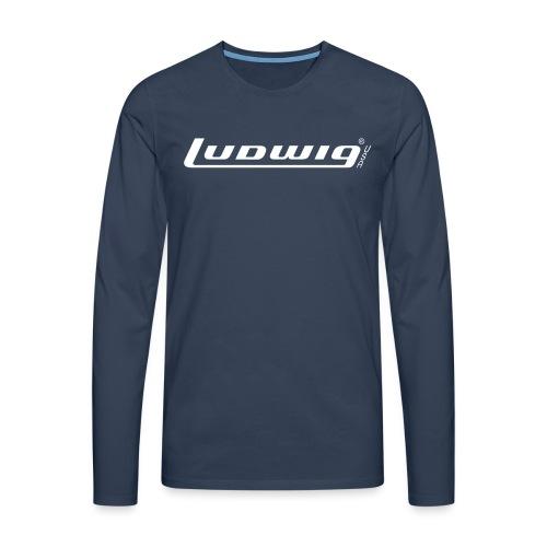Ludwig70er-Schriftzug - Männer Premium Langarmshirt