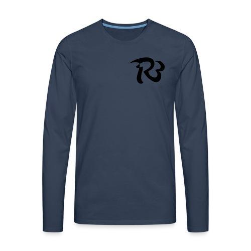 R3 MILITIA LOGO - Men's Premium Longsleeve Shirt