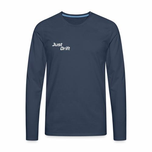 Just Drift Design - Mannen Premium shirt met lange mouwen