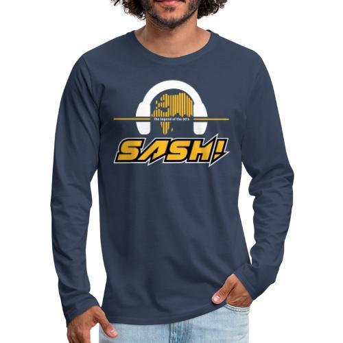SASH! Logo 2020 Headfone - Men's Premium Longsleeve Shirt
