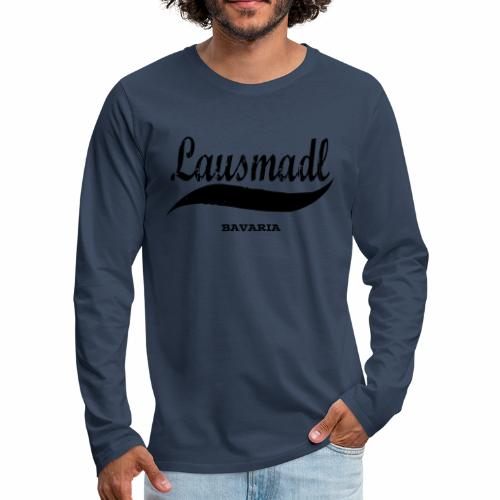 LAUSMADL BAVARIA - Männer Premium Langarmshirt