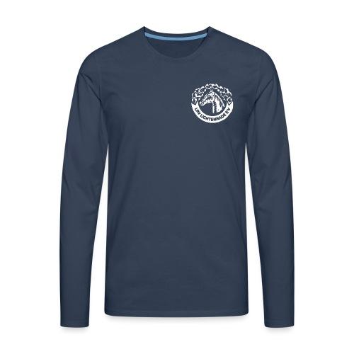 LRV_logo_white - Männer Premium Langarmshirt