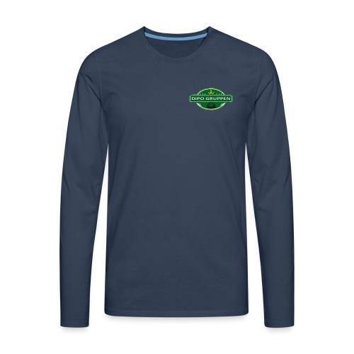 Logo uden baggrund Google drev stor png - Herre premium T-shirt med lange ærmer