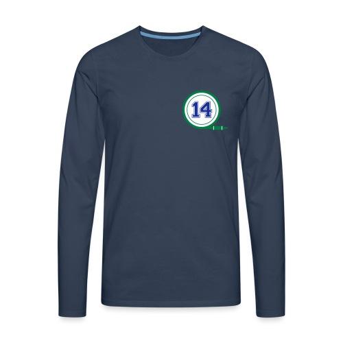 D14 Alt Logo - Men's Premium Longsleeve Shirt