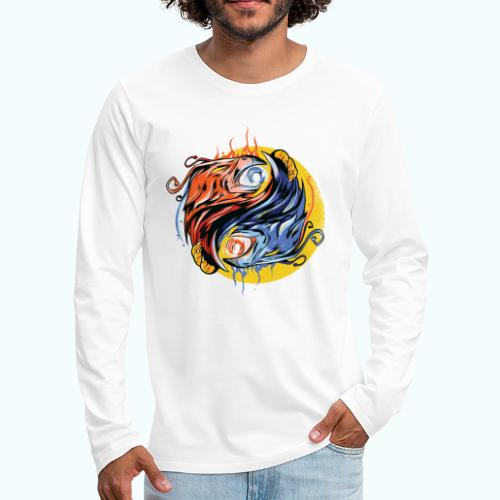 Japan Phoenix - Men's Premium Longsleeve Shirt