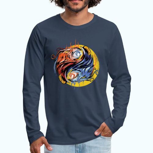 Japan Phoenix - Men's Premium Longsleeve Shirt
