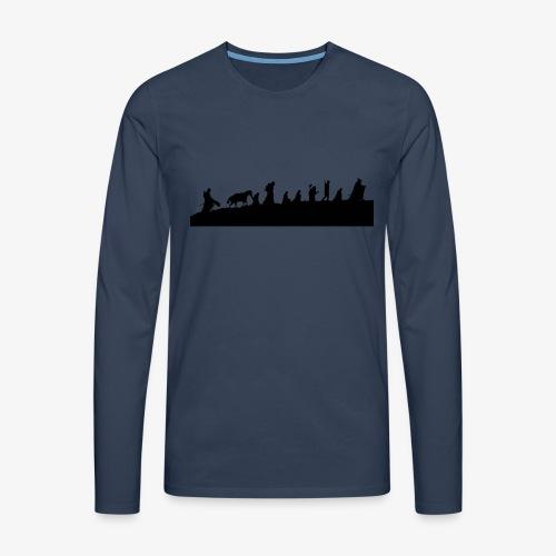 The Fellowship of the Ring - Men's Premium Longsleeve Shirt