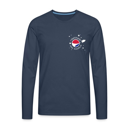 MAX stars - Miesten premium pitkähihainen t-paita
