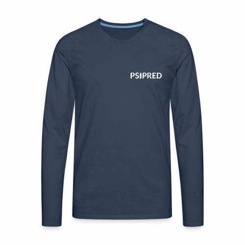 psipred logo standard - Men's Premium Longsleeve Shirt