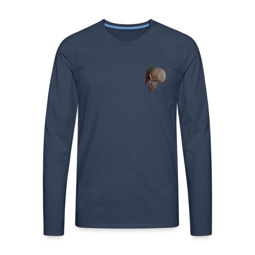 Teschio - Maglietta Premium a manica lunga da uomo