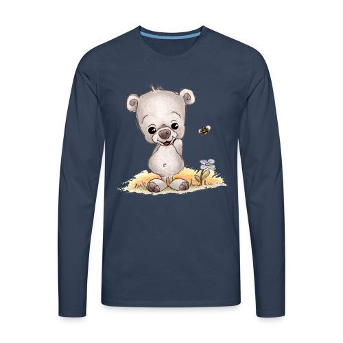 Noah der kleine Bär - Männer Premium Langarmshirt