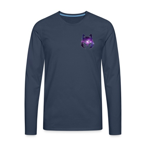 Galaxy wolf - T-shirt manches longues Premium Homme