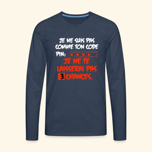 not pin - T-shirt manches longues Premium Homme