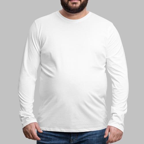 DOG LOVE - Geschenkidee für Hundebesitzer - Männer Premium Langarmshirt