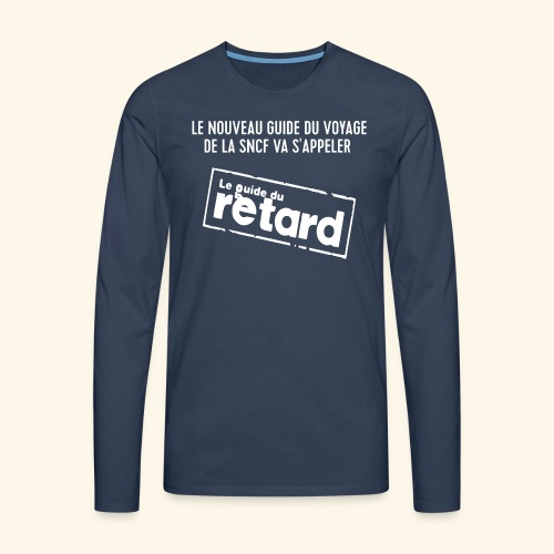 Guide du voyage - T-shirt manches longues Premium Homme