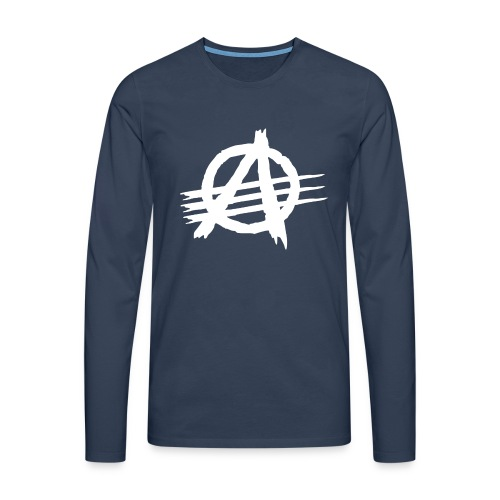 AGaiNST ALL AuTHoRiTieS - Men's Premium Longsleeve Shirt