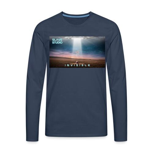 INVISIBLE - Maglietta Premium a manica lunga da uomo