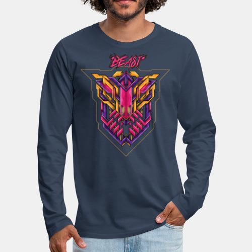 beast - Männer Premium Langarmshirt