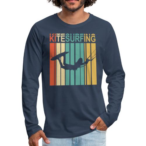Kitesurfing - T-shirt manches longues Premium Homme