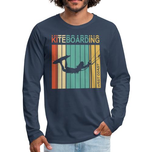 Kiteboarding WEST COAST - T-shirt manches longues Premium Homme