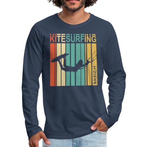 Kitesurfing Breizh - T-shirt manches longues Premium Homme
