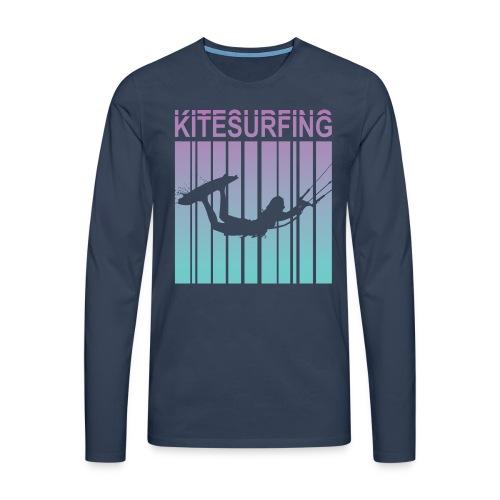Kitesurfing - Men's Premium Longsleeve Shirt