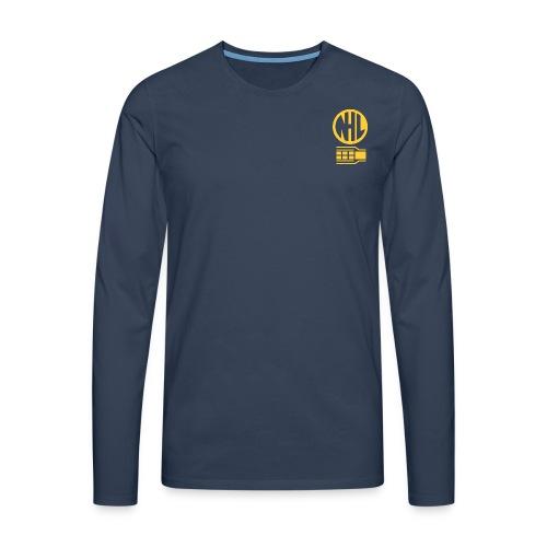 nhl1 gold - Men's Premium Longsleeve Shirt