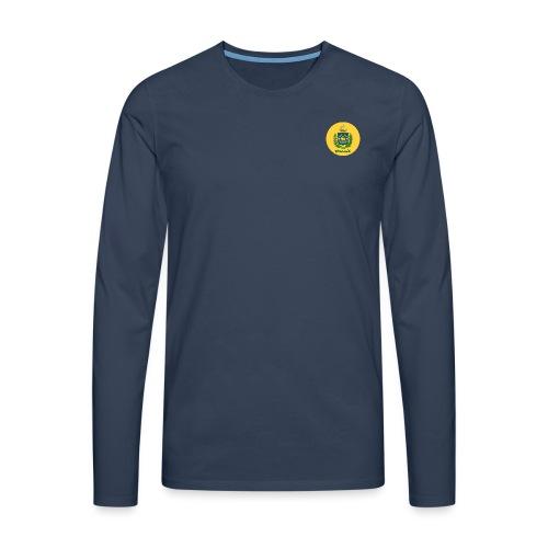 Monarquia Brasil - Premium langermet T-skjorte for menn