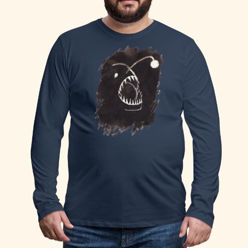 I djupet - Långärmad premium-T-shirt herr