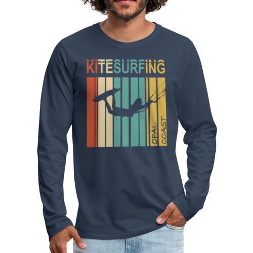 Kitesurfing Opal Coast II - T-shirt manches longues Premium Homme