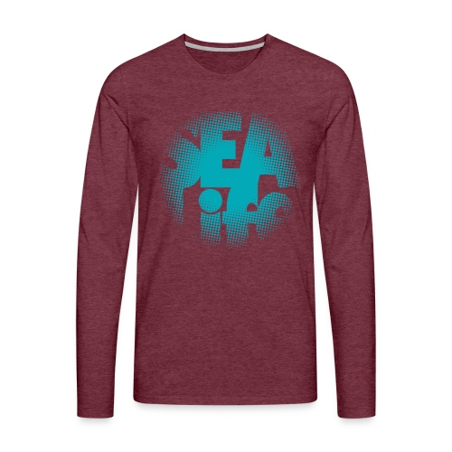 Sealife surfing tees, clothes and gifts FP24R01A - Miesten premium pitkähihainen t-paita