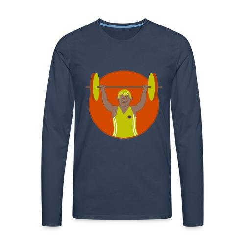 Motivation musculation - T-shirt manches longues Premium Homme