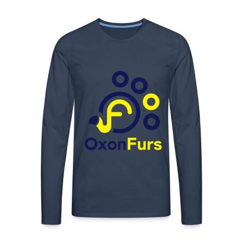 OxonFurs Logo - Men's Premium Longsleeve Shirt